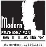 modern fashions for milady  ... | Shutterstock .eps vector #1368411578