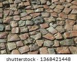 an old stoneblock pavement...   Shutterstock . vector #1368421448
