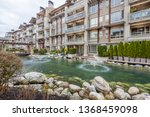 modern apartment buildings in... | Shutterstock . vector #1368459098