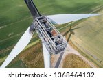 Wind Turbine Damaged By Fire...