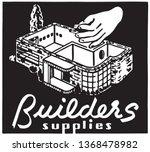 builders supplies   retro ad...   Shutterstock .eps vector #1368478982