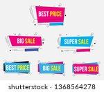 disscount banner  promotion... | Shutterstock .eps vector #1368564278