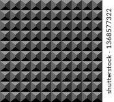 acoustic foam material black... | Shutterstock .eps vector #1368577322