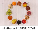 fresh healthy nutritious food... | Shutterstock . vector #1368578978