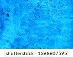 sea ocean waves blue white... | Shutterstock . vector #1368607595