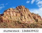 capitol reef national park in... | Shutterstock . vector #1368639422