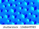 creative seamless blue texture... | Shutterstock . vector #1368649985