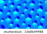 creative seamless blue texture... | Shutterstock . vector #1368649988
