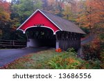 Flume Gorge Covered Bridge ...