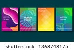 modern background with... | Shutterstock . vector #1368748175