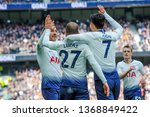 london  uk   april 13 2019 ...   Shutterstock . vector #1368849422