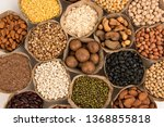 grains are nutritious on a... | Shutterstock . vector #1368855818