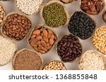 grains are nutritious on a... | Shutterstock . vector #1368855848