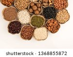 grains are nutritious on a... | Shutterstock . vector #1368855872