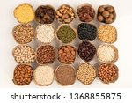 grains are nutritious on a... | Shutterstock . vector #1368855875