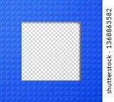 vector template frame for photo ... | Shutterstock .eps vector #1368863582