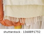 clothes hanging background ... | Shutterstock . vector #1368891752