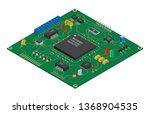 isometric vector printed... | Shutterstock .eps vector #1368904535