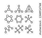 structural formulas of... | Shutterstock .eps vector #1368914768
