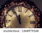 beautiful rasfokus lights of...   Shutterstock . vector #1368979268