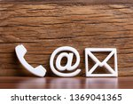 close up of various white... | Shutterstock . vector #1369041365