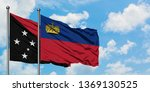 papua new guinea and... | Shutterstock . vector #1369130525
