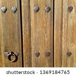 background with rustic and... | Shutterstock . vector #1369184765