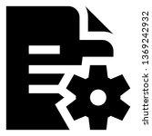 Technical Specs Documentation Vector Icon