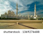 grand mosque of abu dhabi ...   Shutterstock . vector #1369276688