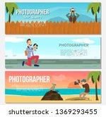 flat photography horizontal... | Shutterstock .eps vector #1369293455