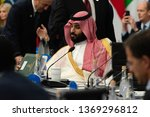 the crown prince of the saudi... | Shutterstock . vector #1369296812