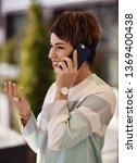 successful woman in fashion...   Shutterstock . vector #1369400438
