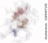dark multicolor vector texture... | Shutterstock .eps vector #1369407155