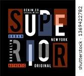 superior design typography... | Shutterstock .eps vector #1369422782