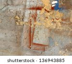 the old painted wall. background | Shutterstock . vector #136943885