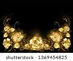 gold  jeweler  shiny ... | Shutterstock . vector #1369454825