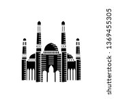 mosque icon vector illustration ... | Shutterstock .eps vector #1369455305
