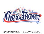 vector french motto for... | Shutterstock .eps vector #1369472198