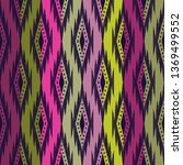tribal seamless background.... | Shutterstock .eps vector #1369499552