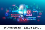 artificial intelligence... | Shutterstock . vector #1369513472
