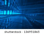 abstract futuristic background | Shutterstock . vector #136951865