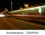 tramway at light speed | Shutterstock . vector #1369542