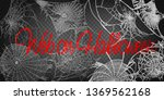 collection of cobweb  isolated... | Shutterstock .eps vector #1369562168