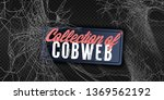 collection of cobweb  isolated... | Shutterstock .eps vector #1369562192