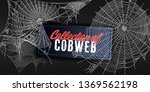 collection of cobweb  isolated... | Shutterstock .eps vector #1369562198