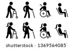 icons that represent people... | Shutterstock .eps vector #1369564085