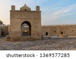 fire temple of baku  ateshgah   ... | Shutterstock . vector #1369577285