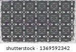 decorative background pattern | Shutterstock . vector #1369592342