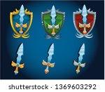 sword  iron fantasy shield for...