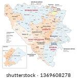 bosnia and herzegovina...   Shutterstock .eps vector #1369608278